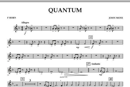 Quantum - F Horn (Concert Band)