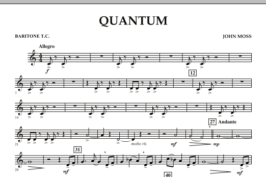 Quantum - Baritone T.C. (Concert Band)