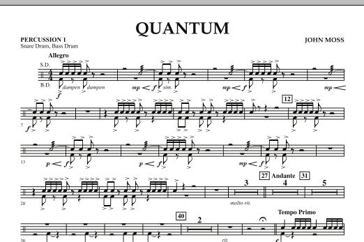 Quantum - Percussion 1 (Concert Band)