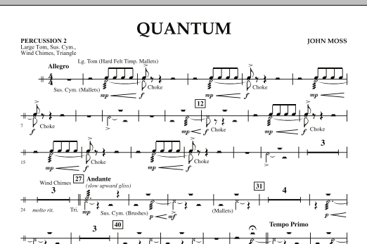 Quantum - Percussion 2 (Concert Band)