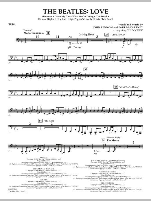 The Beatles: Love - Tuba (Concert Band)