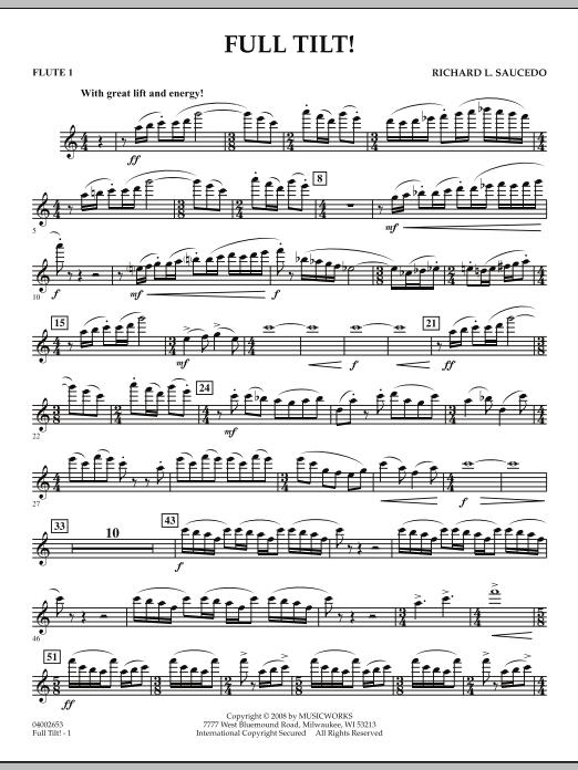 Full Tilt - Flute 1 (Concert Band)