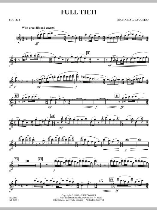 Full Tilt - Flute 2 (Concert Band)