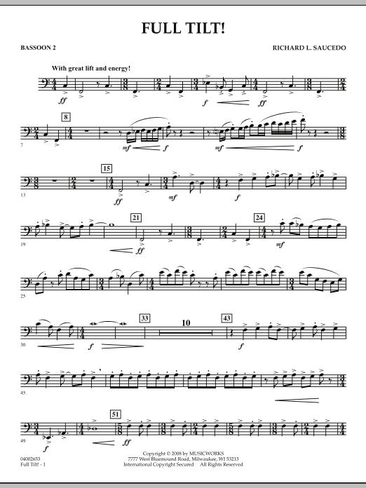 Full Tilt - Bassoon 2 (Concert Band)