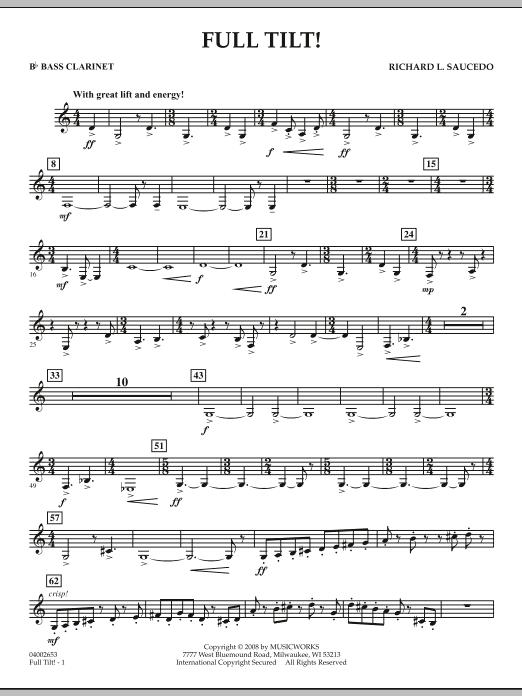 Full Tilt - Bb Bass Clarinet (Concert Band)