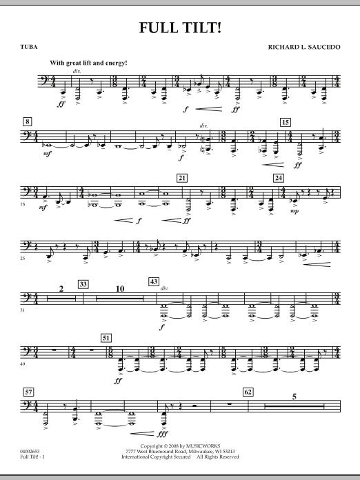 Full Tilt - Tuba (Concert Band)