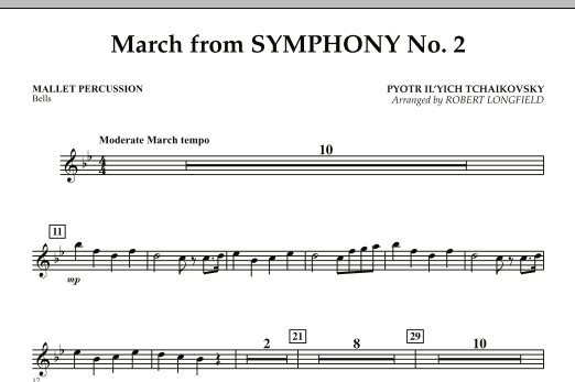 March from Symphony No. 2 - Mallet Percussion (Concert Band)