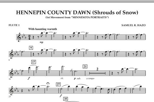 Hennepin County Dawn (Mvt. 1 of Minnesota Portraits) - Flute 1 (Concert Band)