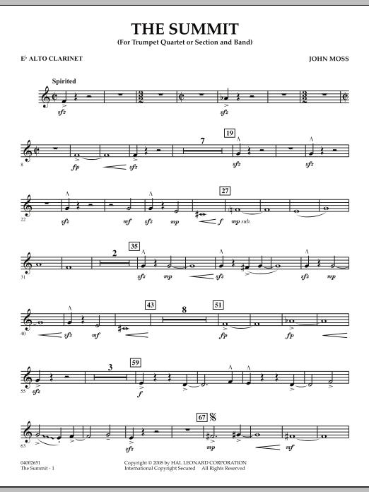 The Summit - Eb Alto Clarinet (Concert Band)