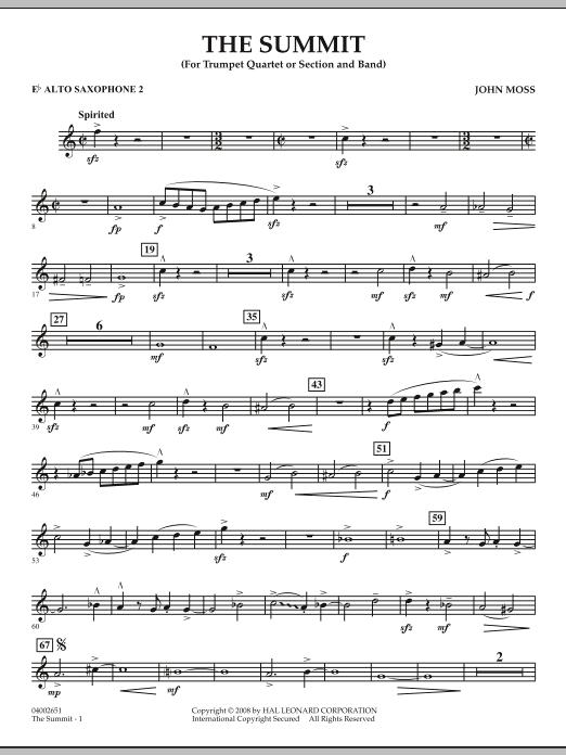 The Summit - Eb Alto Saxophone 2 (Concert Band)
