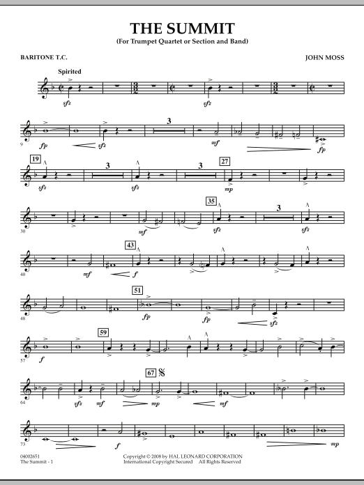 The Summit - Baritone T.C. (Concert Band)