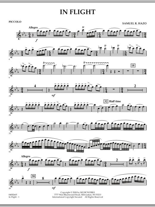 In Flight - Piccolo (Concert Band)