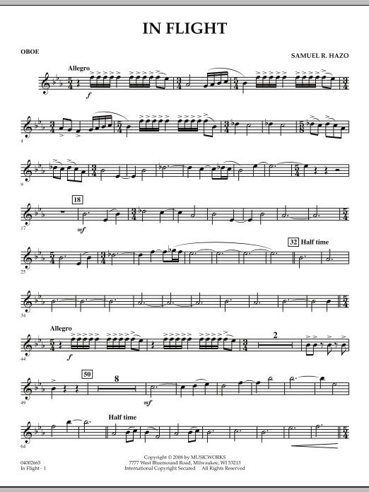 In Flight - Oboe (Concert Band)