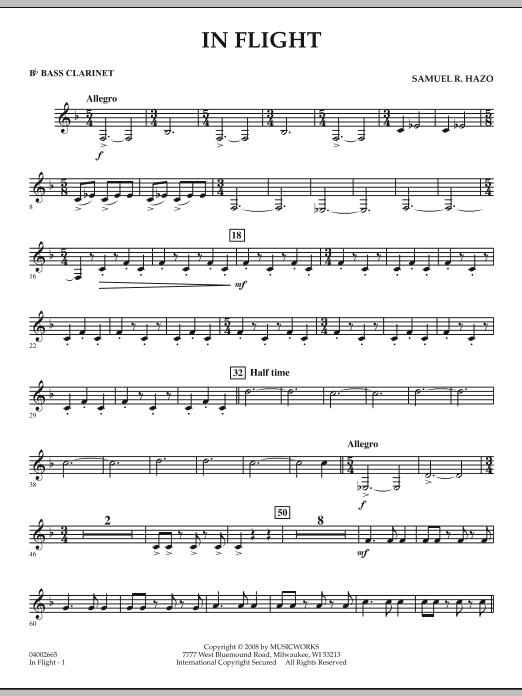 In Flight - Bb Bass Clarinet (Concert Band)