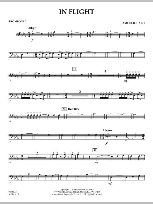 In Flight - Trombone 2 (Concert Band)