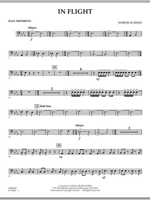 In Flight - Bass Trombone (Concert Band)