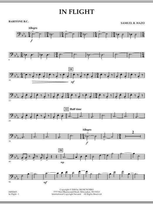 In Flight - Baritone B.C. (Concert Band)