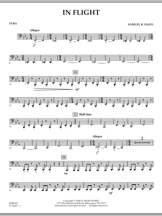 In Flight - Tuba (Concert Band)