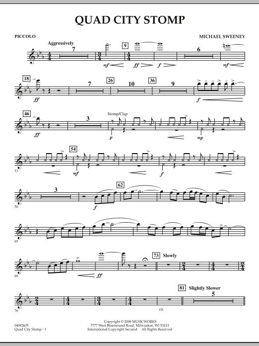 Quad City Stomp - Piccolo (Concert Band)