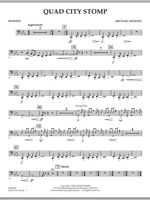 Quad City Stomp - Bassoon (Concert Band)