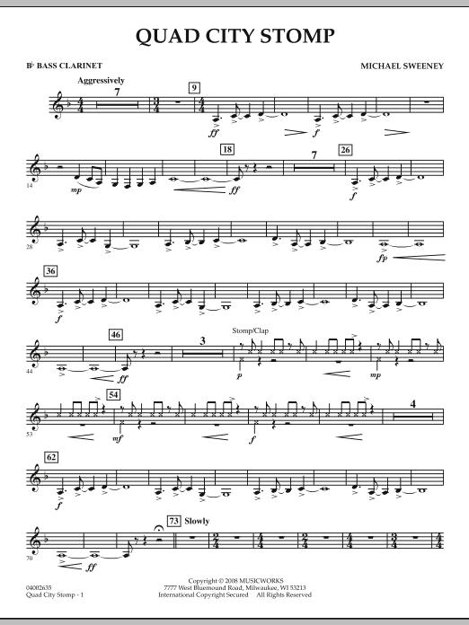Quad City Stomp - Bb Bass Clarinet (Concert Band)