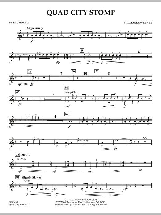 Quad City Stomp - Bb Trumpet 2 (Concert Band)