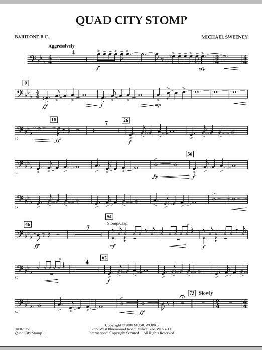Quad City Stomp - Baritone B.C. (Concert Band)