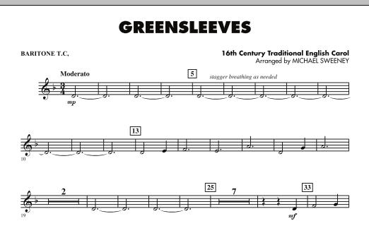 Greensleeves - Baritone T.C. (Concert Band)