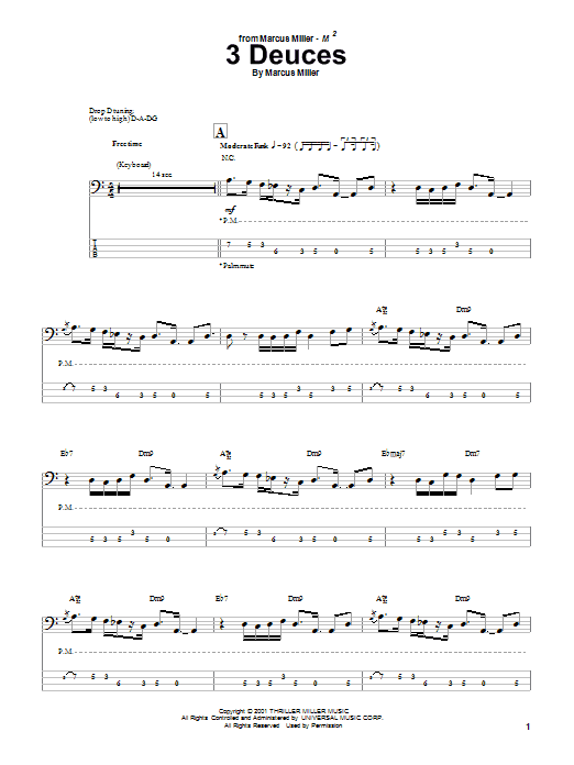 3 Deuces Sheet Music