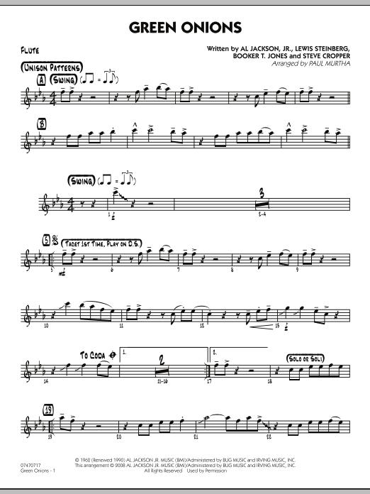Green Onions - Flute (Jazz Ensemble)