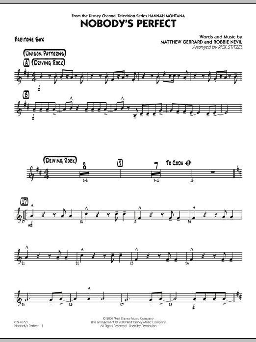 Nobody's Perfect - Baritone Sax (Jazz Ensemble)