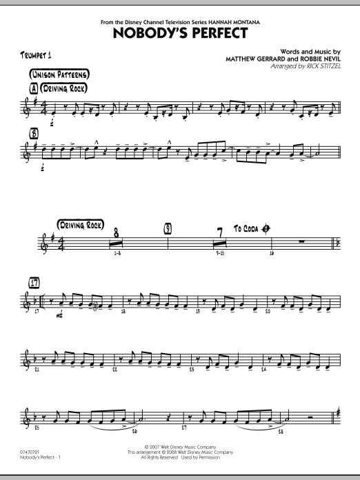 Nobody's Perfect - Trumpet 1 (Jazz Ensemble)