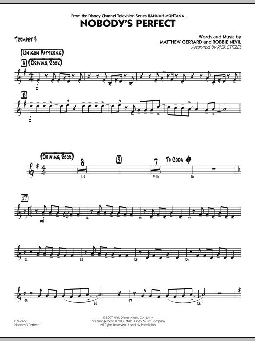 Nobody's Perfect - Trumpet 3 (Jazz Ensemble)
