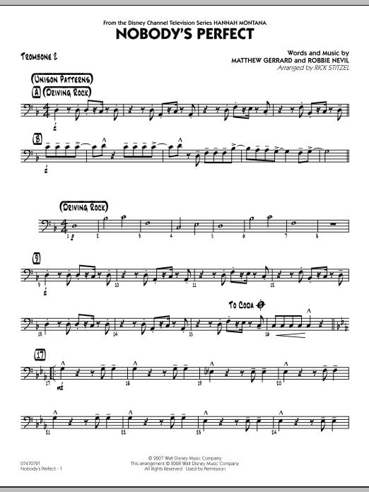 Nobody's Perfect - Trombone 2 (Jazz Ensemble)