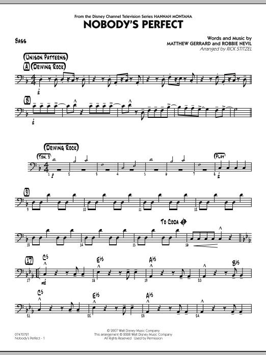 Nobody's Perfect - Bass (Jazz Ensemble)