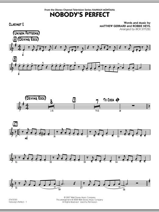 Nobody's Perfect - Bb Clarinet 2 (Jazz Ensemble)