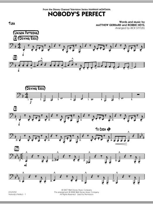 Nobody's Perfect - Tuba (Jazz Ensemble)