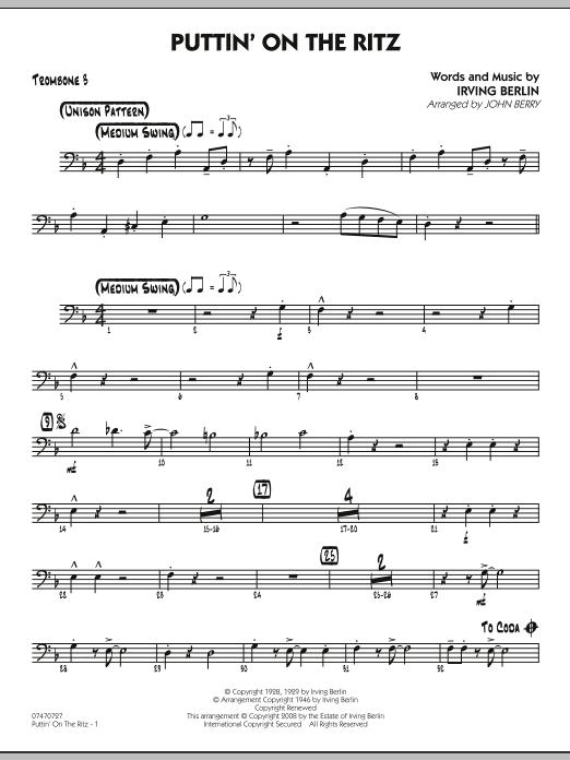 Puttin' On The Ritz - Trombone 3 (Jazz Ensemble)