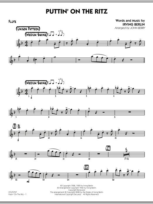 Puttin' On The Ritz - Flute (Jazz Ensemble)