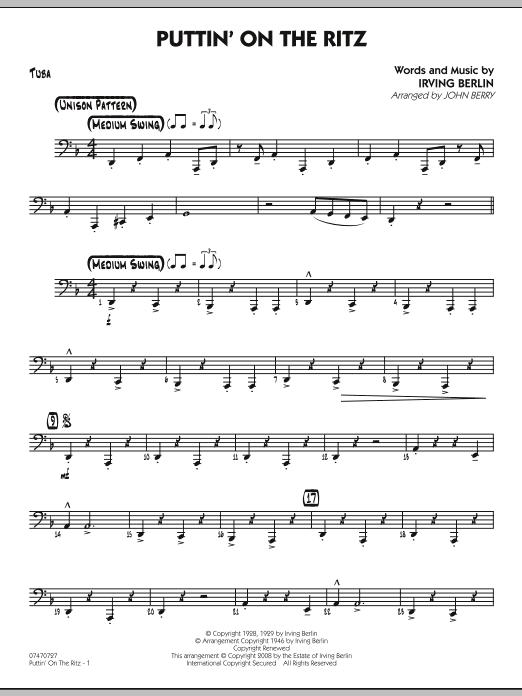 Puttin' On The Ritz - Tuba (Jazz Ensemble)
