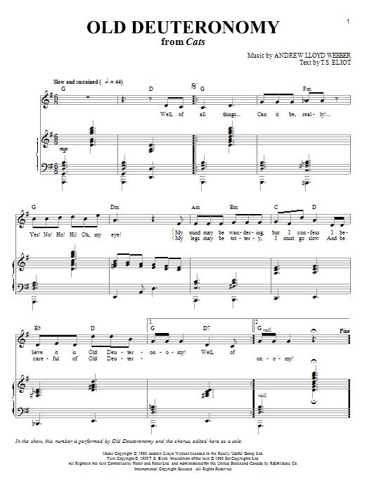 Andrew Lloyd Webber for Singers - 30 Songs - Men's Edition by Andrew Lloyd Webber