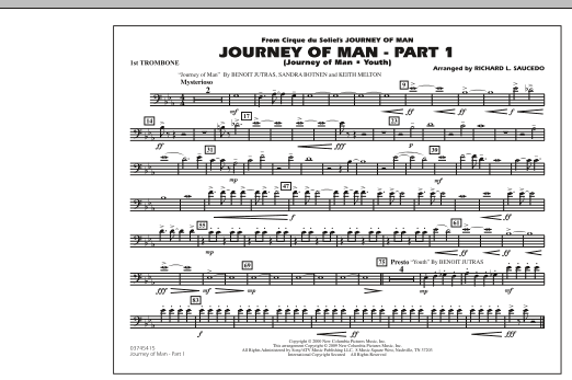 Journey of Man - Part 1 (Journey of Man: Youth) - 1st Trombone (Marching Band)