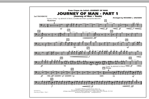 Journey of Man - Part 1 (Journey of Man: Youth) - 2nd Trombone (Marching Band)