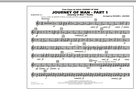 Journey of Man - Part 1 (Journey of Man: Youth) - Baritone T.C. (Marching Band)