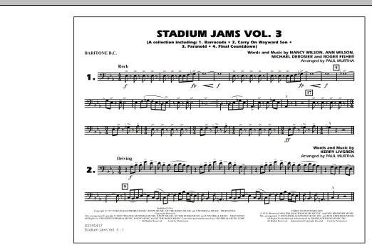 Stadium Jams - Volume 3 - Baritone B.C. (Marching Band)