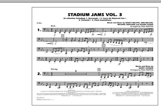 Stadium Jams - Volume 3 - Tuba (Marching Band)