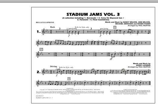 Stadium Jams - Volume 3 - Bells/Xylophone (Marching Band)