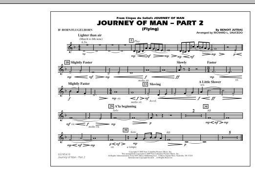 Journey of Man - Part 2 (Flying) - Bb Horn/Flugelhorn (Marching Band)