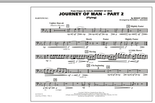 Journey of Man - Part 2 (Flying) - Baritone B.C. (Marching Band)