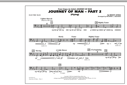 Journey of Man - Part 2 (Flying) - Electric Bass (Marching Band)